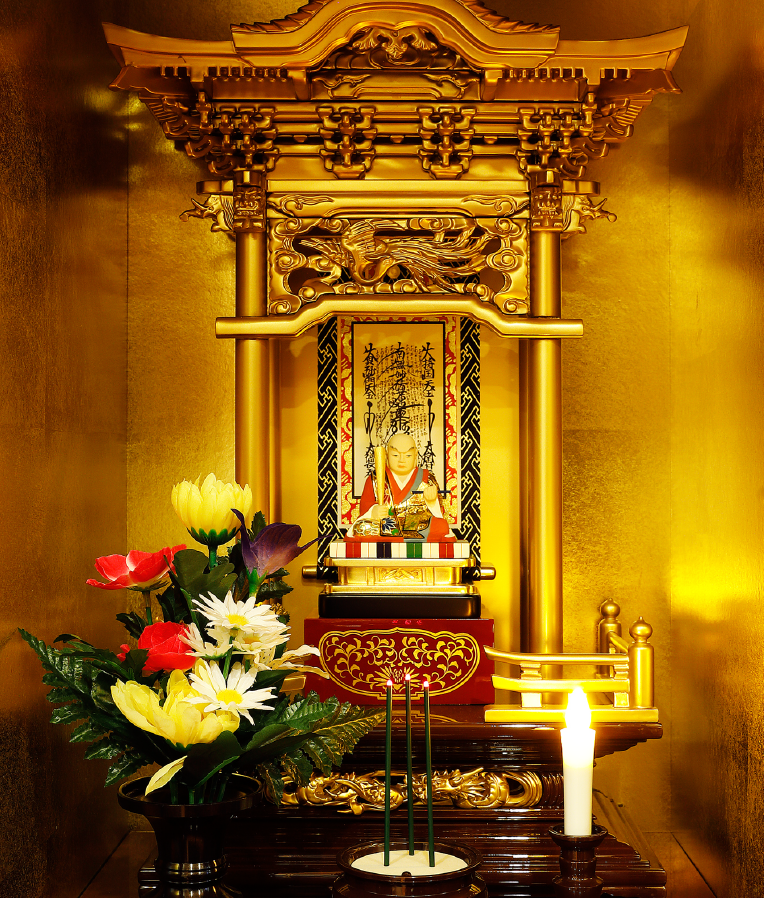 久遠の仏様のもと 法華経の光につつまれる安心